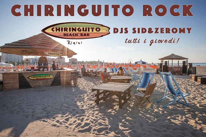 Chiringuito rock! Opening party! a Rimini 18/06/2015