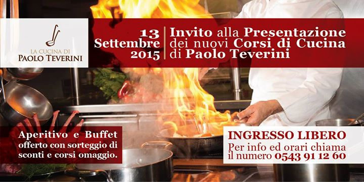 Open day cooking class scuola di cucina con paolo teverini a bagno di romagna 13 09 2015 - Paolo teverini bagno di romagna ...