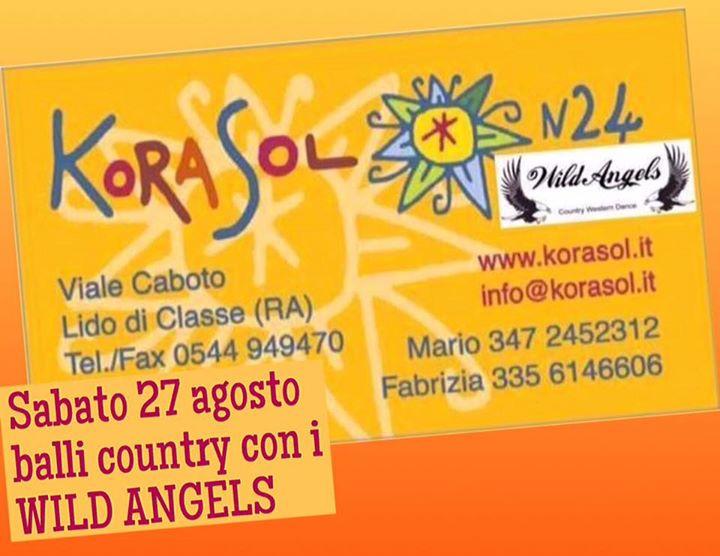Wild angels live a ravenna lido di classe 27 08 2016 for Bagno korasol